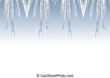 icicle frame - a pretty icicle frame