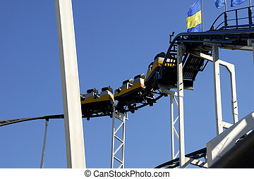 Rollercoaster - Photo of a Rollercoaster / Amusement Park...