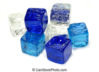 Ice Cubes - Photo of Various Color Ice Cubes
