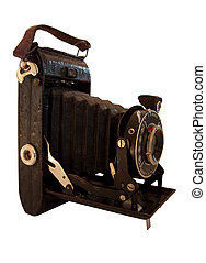 camera 2 - historical camera with swinging out bellows,...
