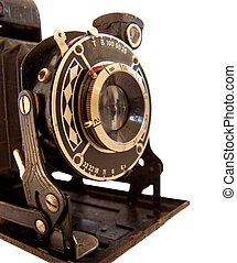 camera 3 - historical camera with swinging out bellows,...