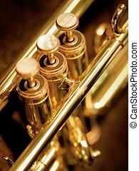 trompeta, válvulas