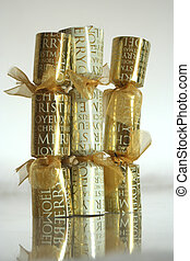 Christmas Crackers - These are Christmas crackers.