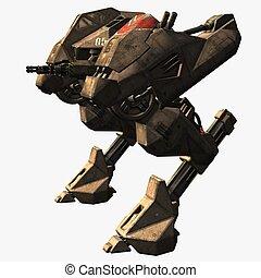 Robot - 3D Render