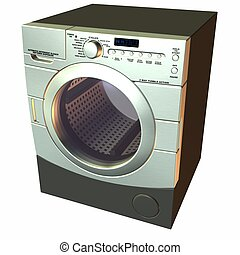 Washer - 3D Render