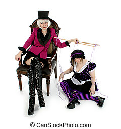 Puppet Master - Beautiful puppet master and her life size...