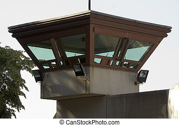 Jail watch tower - Watch tower from germanys biggest penal...