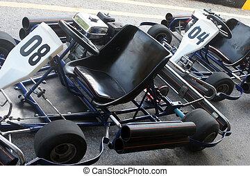 Go carts - Go cart racing track