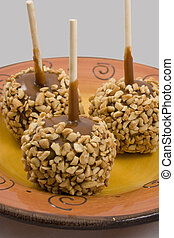 Carmel apples time for the holidays