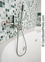 tap with shower