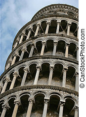Tower. Pisa. Leaning