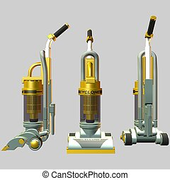 Vacuum Cleaner - 3D Render