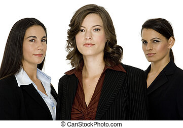 Confident Business - Three confident businesswoman standing...