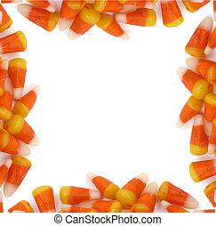 Halloween - Candy Corn Border - A halloween border frame...