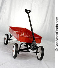 Little Red Wagon - A Red Wagon