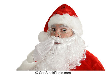 Santa Claus - Found Out - Traditional Christmas Santa Claus...