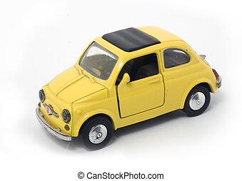 plastic car -