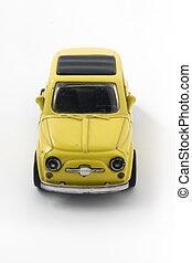 little car - little model of an old italian car