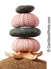 Seashore Zen Stack