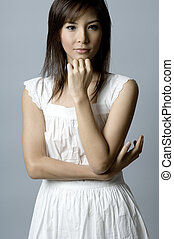 Asian Fashion Model - A beautiful young asian fashion model...