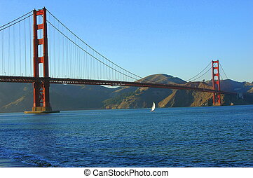 Golden Gate Bridge - Golden gate bridge in san francisco,...