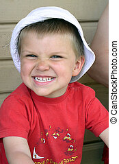 Child - A smiling child