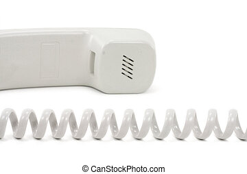 telephone - Telephone with a white background