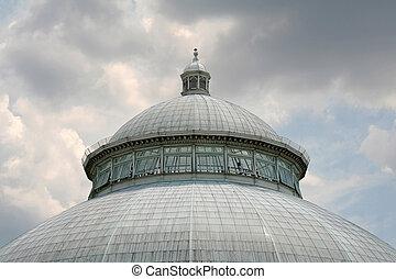 White Domed Garden Building
