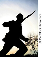 Army Man Silhouette