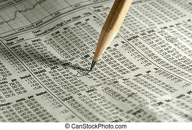 Quotes - Photo of a Pencil on Top of Futures Pricing and...