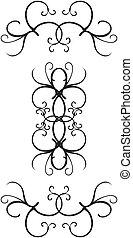 Decorative border designs - Ornate decorative borders