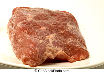 corned beef piece uncooked raw
