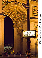 Place Charles de Gaulle - Charles de Gaulle square street...
