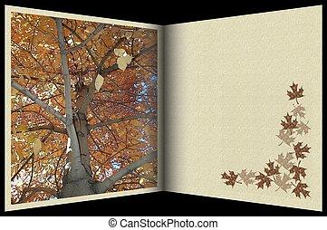 Stock Image of Autum - Interesting Autumn template...