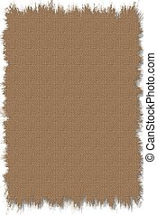 Stock Illustration o - Simple digital texture of old burlap...
