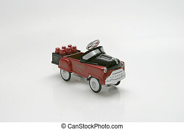 Pedal Car - Gas - Pedal Car toy, gas truck