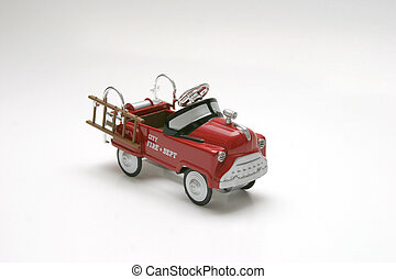 Pedal Car - Fire - Pedal car toy - fire truck