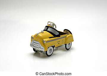 Pedal car - taxi - Pedal car toy - taxi, New York City