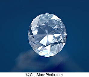 Diamond - A brilliants diamond