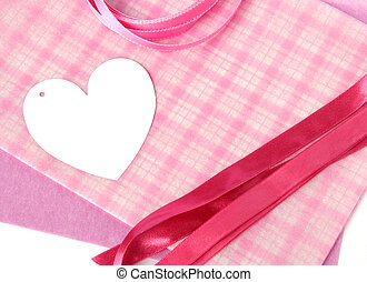 Gift Wrapping - DIY Gift Wrapping Heart-shaped tag, wrapper...