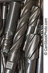 Drill Bits #4 - A collection of drill bits.