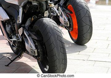 motocicletas, rodas
