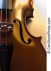 Musical instruments: violin close up 5 - Musical...