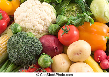 Vegetables - Vegetable background