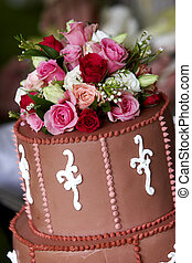 Wedding cake - wedding series - The top of a wonderful...