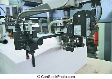 Printing house - Different printed machines and polygraphic...
