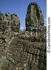 Temples of Angkor - Section of the vast Temples of Angkor in...
