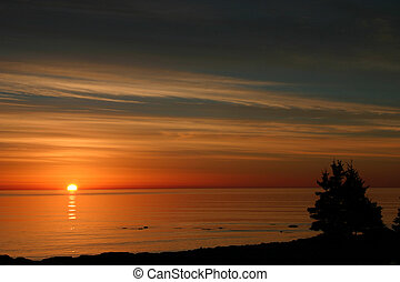 Ocean Sunrise - Sunrise over the coast of Nova Scotia