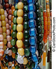 Worry Beads - Worry beads in a market in Athens