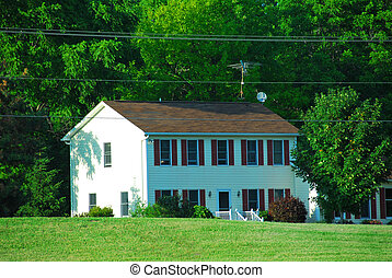 Country house - American country house